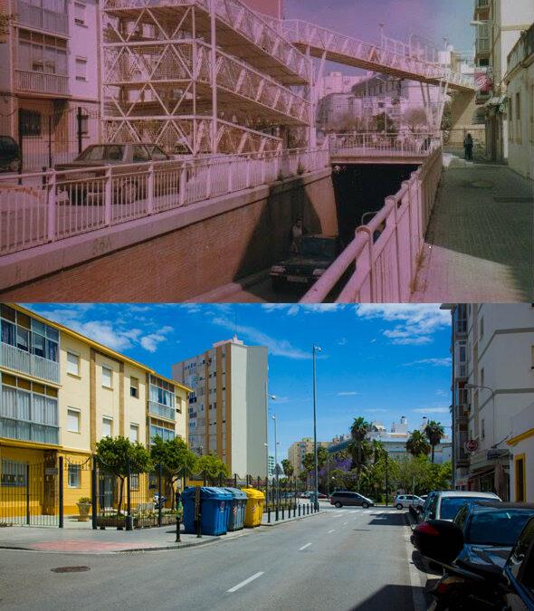 Cádiz, décadas de cambios / Pasarela de la Calle Santo Tomás
